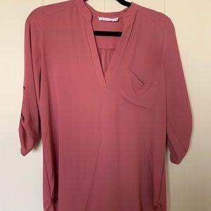 Blush Lush blouse